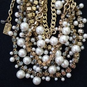 🛍 Kenneth COLE 💎 Rhinestone Faux Pearl Necklace